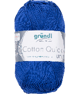 Cotton Quick Uni 135 MARINE BLAUW 50GR