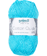 Cotton Quick Uni 136 WATER BLAUW 50GR