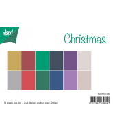 JOY papierset A4 matching colors uni christmas november