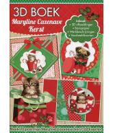 A4 3D Boek Maryline Cazenave kerst