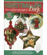 A4 3D Boek Kerstballen