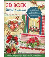 A4 3D boek traditioneel kerst
