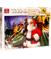 Puzzel Santa Train (1000 pcs)