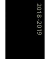 Schoolagenda Zwart 2018-2019