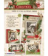 A4 stansblok 56 vintage kerst