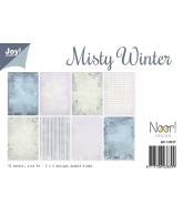 Joy papierset A4 misty winter december