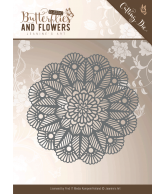 Jeanine's Art snijmal doily classic butterflies and flowers