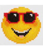 Diamond Dotz Smiling face