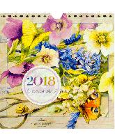 Kalender 2018 Marjolein Bastin week square