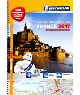 Michelin wegenatlas Frankrijk 2017 (A3)