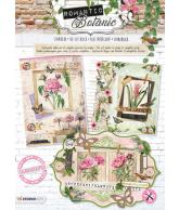 A4 Stansblok 57 Romantic Botanic