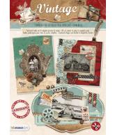A4 Stansblok 59 Vintage