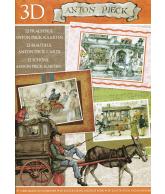 A4 3D boek Anton Pieck 07