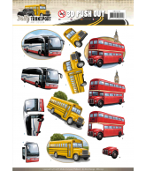 Amy Design Daily Transport Pushout by bus