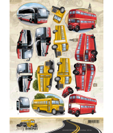 Amy Design daily transport knipvel 3D motorcycling, by bus
