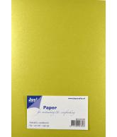 Joy Papierset Metallic kaki (a5 20vel)
