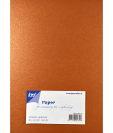 Joy Papierset Metallic koper (a5 20vel)