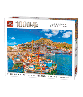Puzzle fishing boats (1000 pcs)