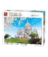 Puzzel Sacre Coeur, Parijs (1000 stukjes)