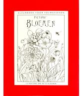Kleurboek voor volwassenen - Bloemen