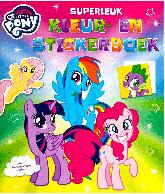 My little pony superleuk kleur-en stickerboek