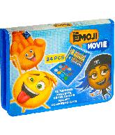 Vakantie koffertje Kleurdoos The Emoji Movie