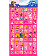Sticker sheet paper Frozen (mini)