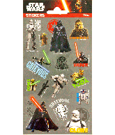 Sticker sheet Star Wars