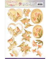 JA Vintage flowers pushout pale vintage