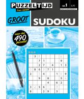 Puzzelboek sudoku groot nr. 1