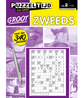 Puzzelboek zweeds groot nr. 2