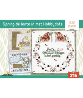 Hobbydols 215 Spring de lente in met hobbydots Trijnie Baukema