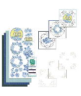 Stitch and Do 80 - Vintage Bloemen