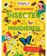 Feit en spel 300 stickers insecten en andere minidieren
