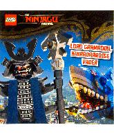 De Lego Ninjago Movie - Lord Garmadon, kwaadaardige vader