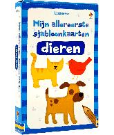 Mijn allereerste sjabloonkaarten: Dieren