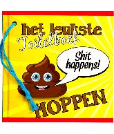 Het leukste toiletboek Moppen 'Shit happens'