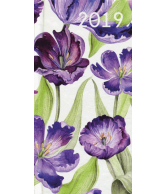 Agenda 2019: Paarse bloemen