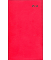 Agenda 2019 dataplan seta staand bordeaux