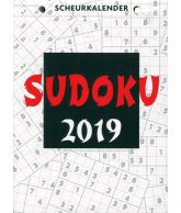 Scheurkalender 2019: Sudoku