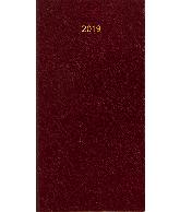 Zakagenda Minitimer staand 2019 bordeaux nr 405
