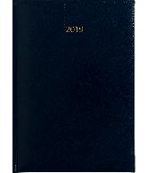 Weektimer agenda A5 2019 donkerblauw nr 202