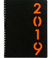 Agenda Weektimer wire-o 2019 Oranje nr 211