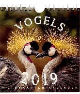 Postkaarten kalender 2019 Vogels