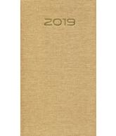 Zakagenda topper soft 2019: Bruin linnen