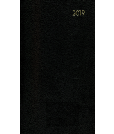 Zakagenda topper 2019: zwart nr 401