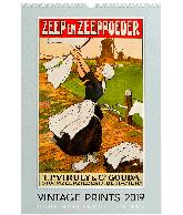 Wandkalender 2019 Vintage Prints A3