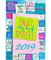 Weekblok kalender 2019 Post It