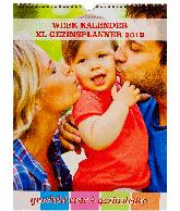 Weekkalender 2019 Gezinsplanner (4 personen)