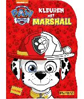 Paw Patrol Shaped Kleuren met Marshall